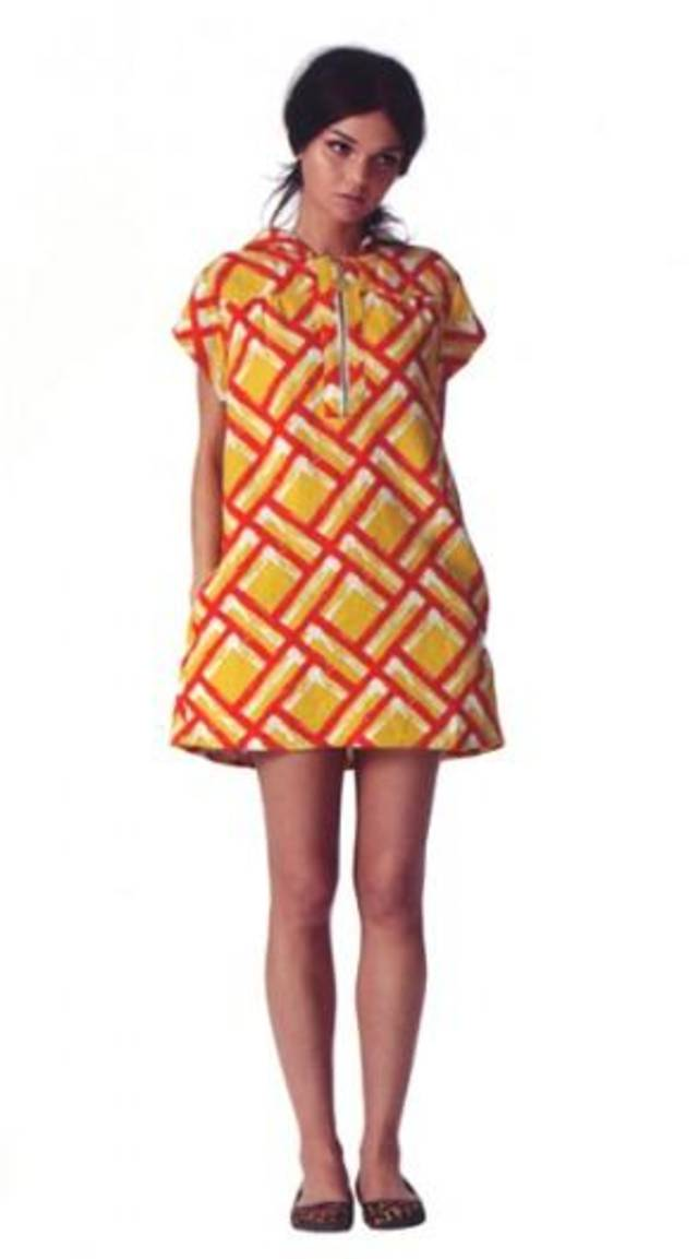 Hooded print dress by Tracy Feith for Target.