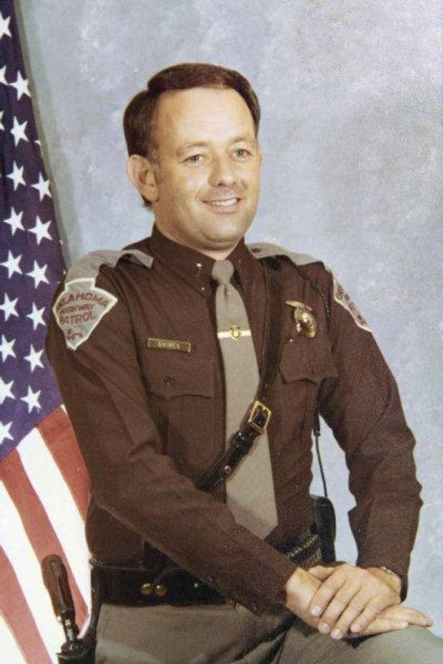Copy photo of  Lt. Pat Grimes who was killed in 1978 while trying to apprehend two prison escapees from McAlester. Photo copied, Friday, December 2 , 2011.       Photo by David McDaniel, The Oklahoman  ORG XMIT: KOD