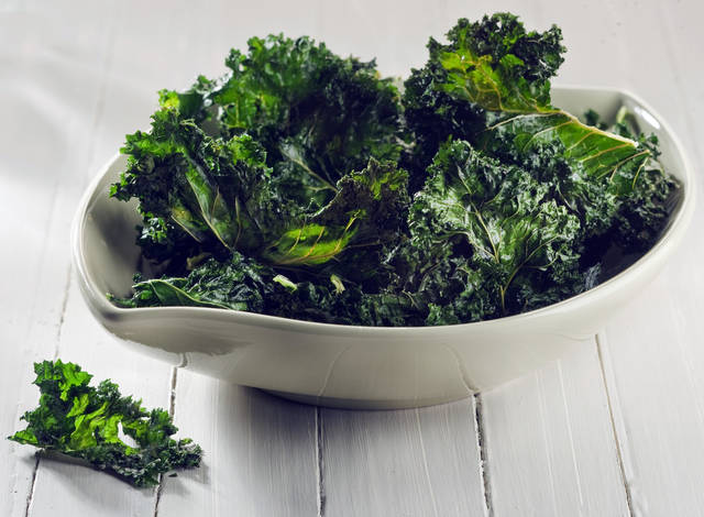 Crispy kale sits atop the greens heap now and may be joined by Brussels sprouts and more in 2013. (Bill Hogan/Chicago Tribune/MCT)
