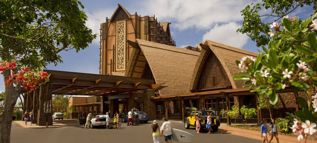 In this undated image released by Disney Destinations, Aulani, a new Disney Resort & Spa in Hawaii, is shown. Aulani, with 840 units is located an hour from Waikiki on Oahu, showcases Hawaiian culture and its natural beauty. (AP Photo/Disney Destinations)