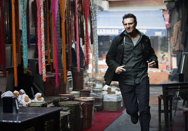 "Liam Neeson stars in ""Taken 2."" 20th CENTURY FOX PHOTO <strong>Magali Bragard</strong>"