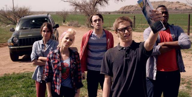 "A still from the film ""Posthuman,"" starring Alex Harris, Lindsay Sawyer, Kyle Whalen, Collin Place and Josh Bonzie. Photo provided."