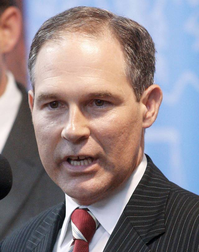 Attorney General  Scott Pruitt