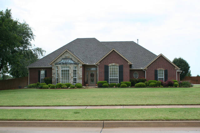 The Listing of the Week is at 1359 E Eagle Nest Terrace in Mustang. Photo provided