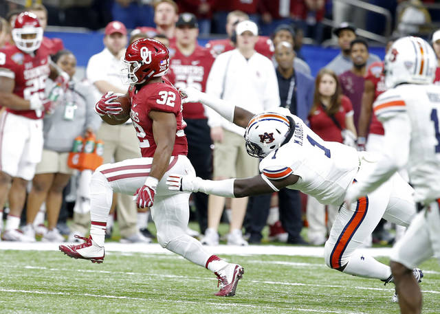 After sealing legacy at OU, Samaje Perine declares for National Football League draft