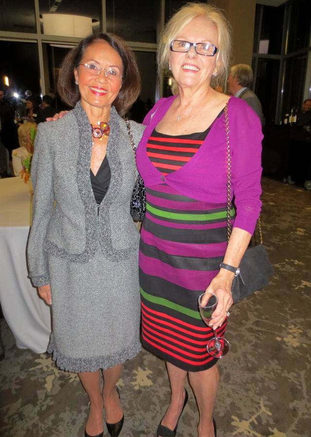 Terri Cooper, Bette Jo Hill. PHOTO BY HELEN FORD WALLACE, THE OKLAHOMAN <strong></strong>