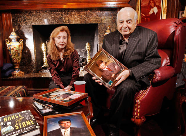 Buddy and Shara Shadid talk about their son, Anthony, a foreign correspondent for The New York Times, who died after suffering a severe asthma attack in Syria on Feb. 16. They were photographed in their Nichols Hills home on Wednesday Photo by Jim Beckel, The Oklahoman