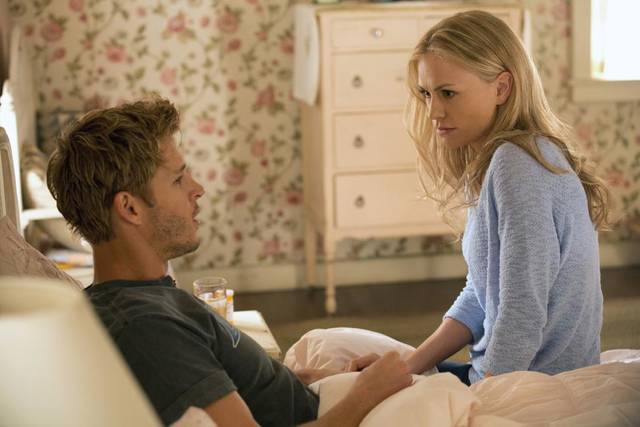 "(season 6, episode 3): Ryan Kwanten and Anna Paquin are shown in the third episode of Season Six of ""True Blood."" - Photo by  John P. Johnson/Courtesy of HBO"