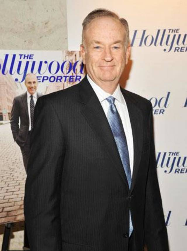 "NEW YORK, NY - APRIL 11:  Bill O'Reilly attends the Hollywood Reporter celebration of ""The 35 Most Powerful People in Media"" at the Four Season Grill Room on April 11, 2012 in New York City.  (Photo by Stephen Lovekin/Getty Images)"