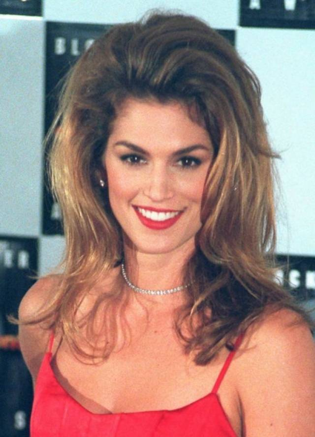 Cindy Crawford in 1995.