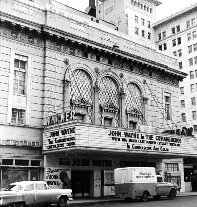"""""""Sale of the old Warner Theater, the Midwest Theater and 10-story Midwest building, and the Sooner Theater to the Cooper Foundation, Lincoln, Neb., for 'about $1 million' in cash was announced Monday.    The sale wil liquidate Midwest Enterprises, Inc., of Oklahoma City, with about 25 stockholders participating in the proceeds, said John Sinopoulo, president.   It owned the properties.    The purchase by the Cooper Foundation was made as 'a long-time investment and illustrates our faith in the future of downtown Oklahoma City,' said Kenneth E. Anderson, Lincoln, general manager.    The deal, handled by Harrison Levy, pioneer city realtor, involves both the oldest and the newest of downtown theater enterprises.    The Warner was built just at the turn of the century (1905) by one of the city's oldest civic leaders, Henry Overholser, and was known for years as the 'Overholser Opera House.'    It was used by many of the most famous stock and opera companies in theatrical history, by bands and symphony orchestras, and other entertainment units.    When purchased by John and Peter Sinopoulo (1916-17), it was turned into a combination vaudeville-movie house and lived again as the 'Orpheum Theater' on that famous vaudeville circuit.    Levy said it is the only theater in Oklahoma City completely equipped with stage, dressing rooms, scenery handling machinery, and other equipment, for legitimate stock companies.    J. I. Meyerson, manager of the Oklahoma City Downtown Association, who was in on the negotiations, said:    'We're hoping to see the Warner come back into its own as an entertainment spot, and for conventions, since it is just across the street from the Sheraton Oklahoma.'    Sinopoulo said Midwest Enterprises Co. actually has been inactive since 1930, when the firm entered into a long-term lease  with Warner Brothers for operation of the then just-completed Midwest theater, the Orpheum (now Warner), the Folly (now Sooner) and the Palace, which is now a parking l"""