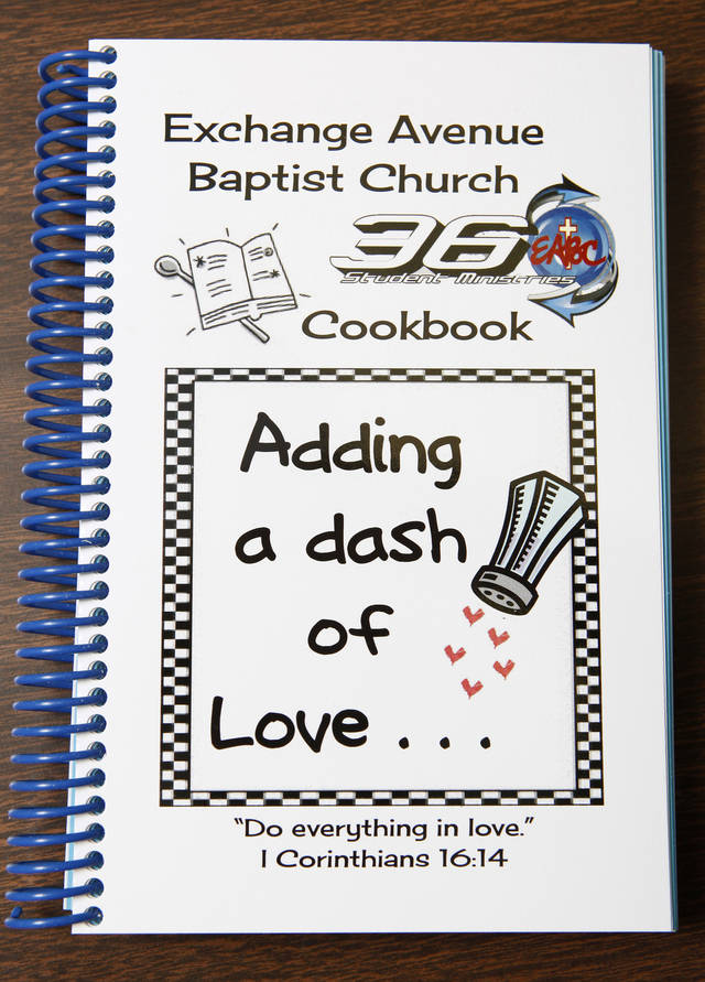 The new church cookbook put out by Exchange Avenue Baptist Church in Oklahoma City Wednesday, Nov. 2, 2011. The first cookbook by the church was published forty years ago in 1971. Photo by Paul B. Southerland, The Oklahoman
