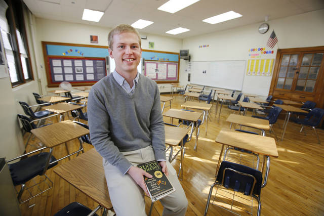 �Doing Teach for America changes how you see your role in the future,� Greg Swanson, an English teacher at Capitol Hill High School in Oklahoma City, said Friday.  Photo By Steve Gooch, The Oklahoman