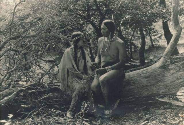 """Daughter of Dawn,"" an 80-minute, six-reel silent film shot in 1920 in the Wichita Mountains of southwest Oklahoma featuring an all-American Indian cast, will make its world premiere Sunday as part of the deadCenter Film Festival. Photo provided by the Oklahoma Historical Society."