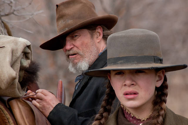 "++EMBARGOED TIL 6 AM EST MONDAY 12-13++In this film publicity image released by Paramount Pictures, Jeff Bridges, left, and Hailee Steinfeld are shown in a scene from ""True Grit."" The Broadcast Film Critics Association (BFCA) gave the film 11 nominations for the 16th annual Critics' Choice Movie Awards.  The awards will be announced Friday evening, Jan. 14, 2011, live on VH1.  (AP Photo/Fox Searchlight, Niko Tavernise)"