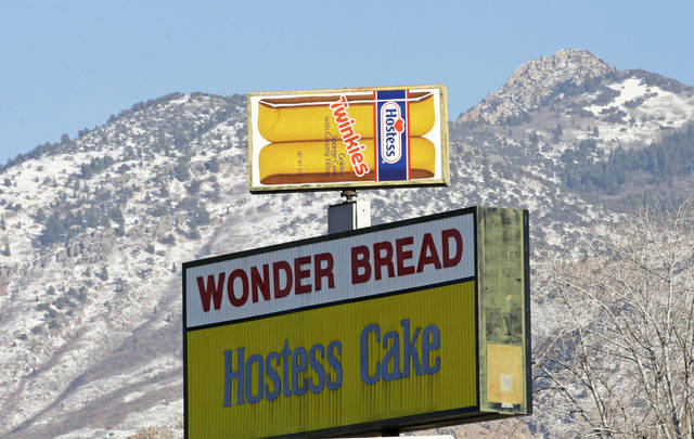 A Hostess Twinkies sign is shown Thursday at the Utah Hostess plant in Ogden, Utah. AP PHOTOS