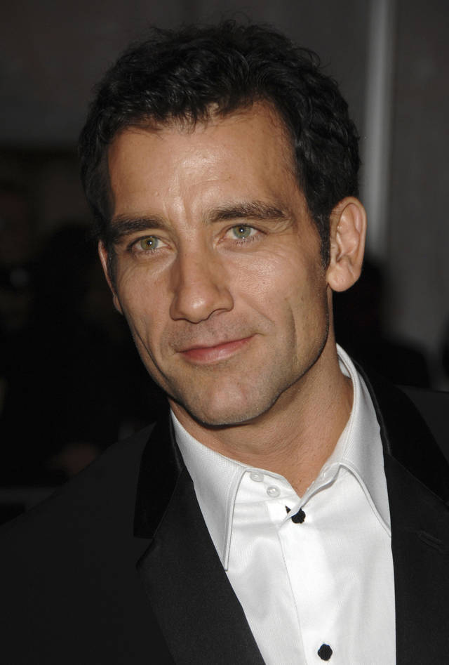 Clive Owen - AP Photo/Peter Kramer