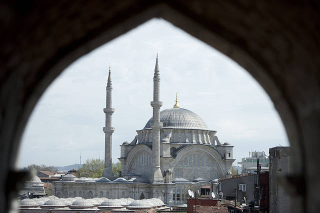 "The new James Bond movie ""Skyfall"" features scenes from Istanbul, Turkey. PHOTO PROVIDED BY MGM/COLUMBIA. <strong>Jasin Boland</strong>"