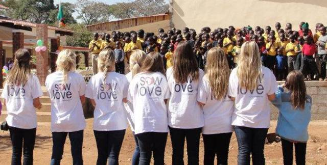 Casady Community Service-Learning Blog: SOW LOVE PROJECT