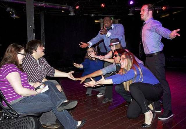 A scene from an OKC Improv show.