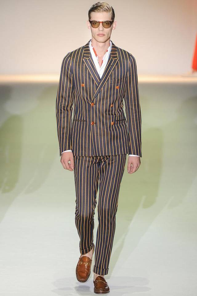 Gucci suit from the spring 2013 collection.