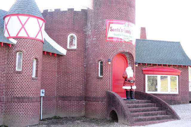 Santa�s Candy Castle, a popular candy store, looks much as it did in 1935 when it was built. PHOTO BY WESLEY K.H. TEO, FOR THE OKLAHOMAN