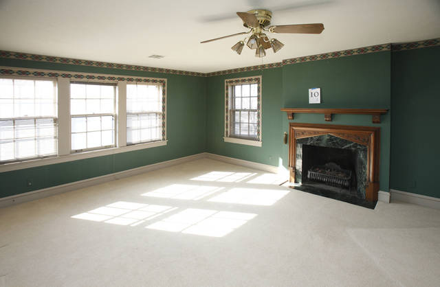 This is one of the rooms in the home at 440 NW 15 in Oklahoma City, OK, Monday, Jan. 23, 2012. The home will be this year's Symphony Show House. By Paul Hellstern, The Oklahoman