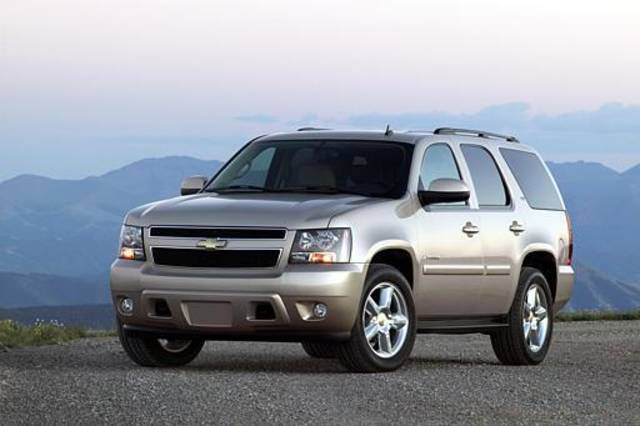 In an undated photo provided by General Motors, a 2007 Chevy Tahoe LTZ is shown. General Motors Corp. emphasized fuel efficiency Tuesday, Sept. 20, 2005 when it introduced its newest sport utility vehicles, which will go on sale early next year. (AP Photo/General Motors, ho)