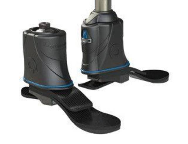 The Magellan device, developed by Oklahoma City-based Orthocare Innovations, is  being tested by a small group of prosthetic wearers. The company expects to begin producing the device commercially later this year.  PHOTO PROVIDED BY ORTHOCARE INNOVATIONS