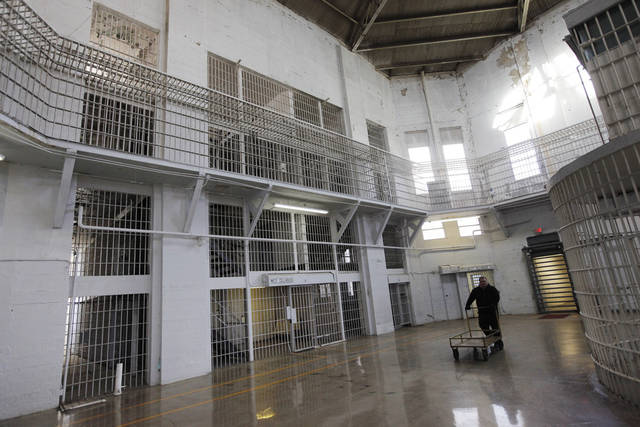 The rotunda at the Oklahoma State Penitentiary in McAlester, Okla., Wednesday, Dec. 7, 2011. Photo by Nate Billings, The Oklahoman