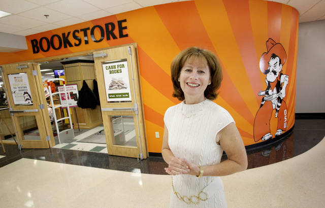 Natalie Shirley, president Oklahoma State University-Oklahoma City, standing in front of the bookstore in the Student Center on the Oklahoma State University-Oklahoma City campus in Oklahoma City Tuesday, Sept. 27, 2011. Photo by Paul B. Southerland, The Oklahoman