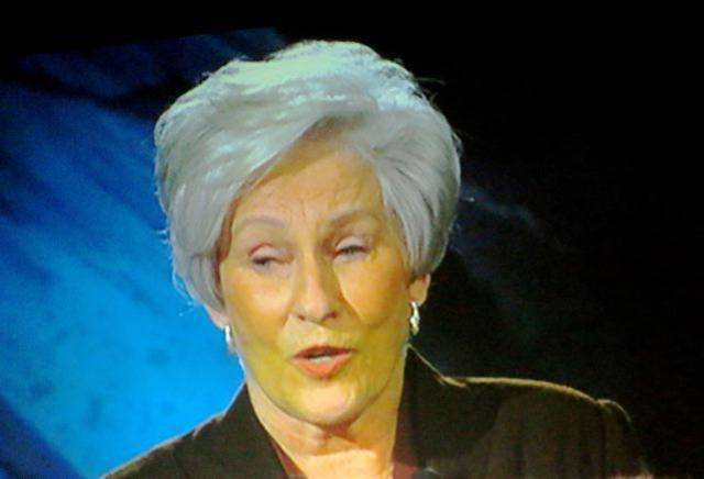 Nancy Ellis was on the program at the Oklahoma Hall of Fame. (Photo by Helen Ford Wallace).