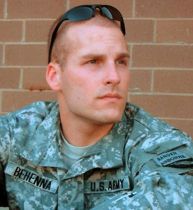 1st Lt. Michael Behenna  He is serving a 15-year sentence at Fort Leavenworth, Kan., for killing an Iraqi man in 2008 during an interrogation.