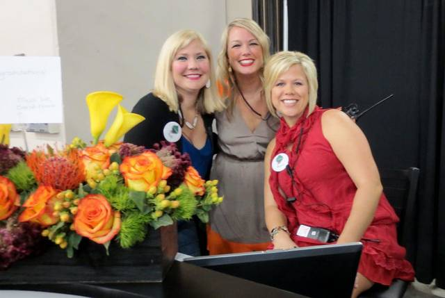 Kelli Hayward, Laura Steen and Mandi Briggs. PHOTO BY HELEN FORD WALLACE, THE OKLAHOMAN  <strong></strong>
