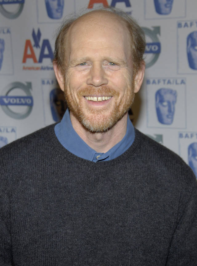 "Oscar-winning director Ron Howard poses on the press line at the British Academy of Film and Television Arts Los Angeles annual awards season tea party at the Beverly Hills Hotel in Beverly Hills, Calif. on Jan. 10, 2009. The Duncan native again is partnering with Canon U.S.A. on a creative endeavor called ""Project Imaginat10n."" (AP Photo/Dan Steinberg) <strong>DAN STEINBERG - AP</strong>"