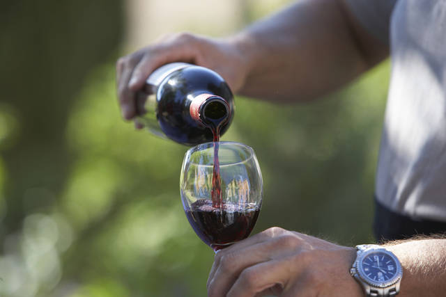 The second annual Wine & Chocolate Festival is set to be held from 5 p.m. to 7:30 p.m. in Memorial Park on Hennessey's Main Street, U.S. 81, on Saturday.  Thinkstock image. <strong></strong>