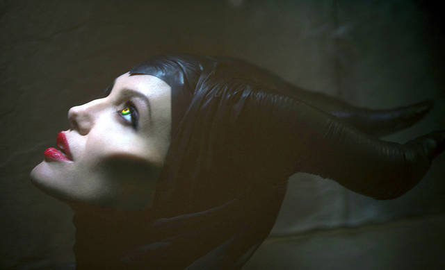 "Actress Angelina Jolie stars in the title role of ""Maleficent."" AP PHOTO"