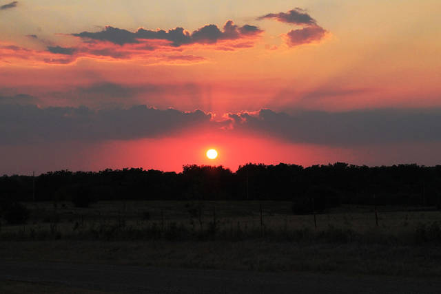 All I need is God and Oklahoma sunsets!