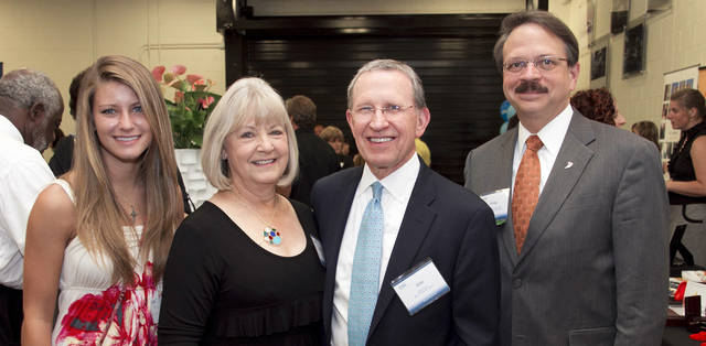 Kris Wolverton, Carolyn and Jim Clark, Dr. Greg Skuta. PHOTO PROVIDED
