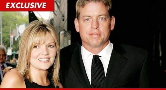 Troy Aikman and Rhonda Aikman