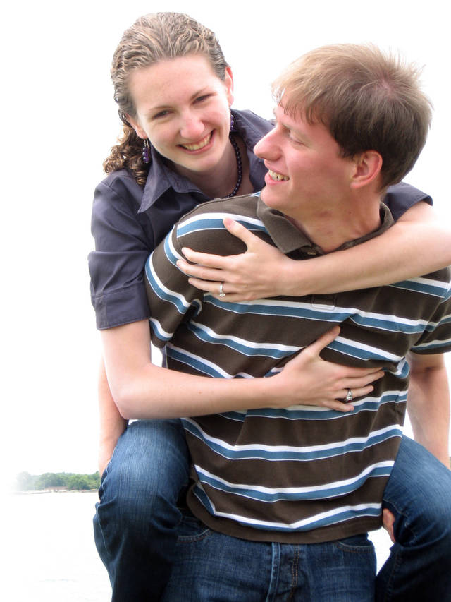 Hillary Sowatsky, 21, and Jeff Hentschel, 23, met as students at Northwestern University.