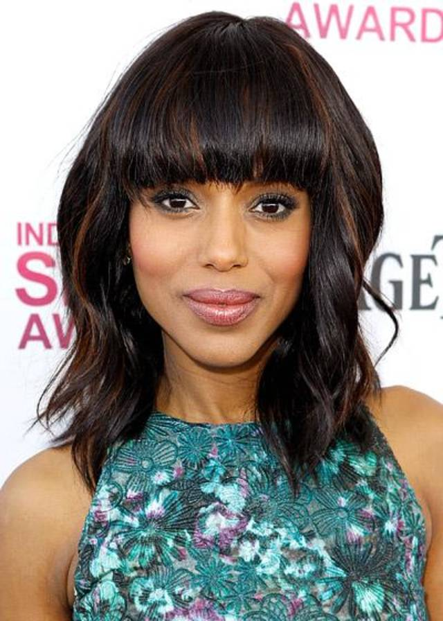 Kerry Washington ... sexy lips.