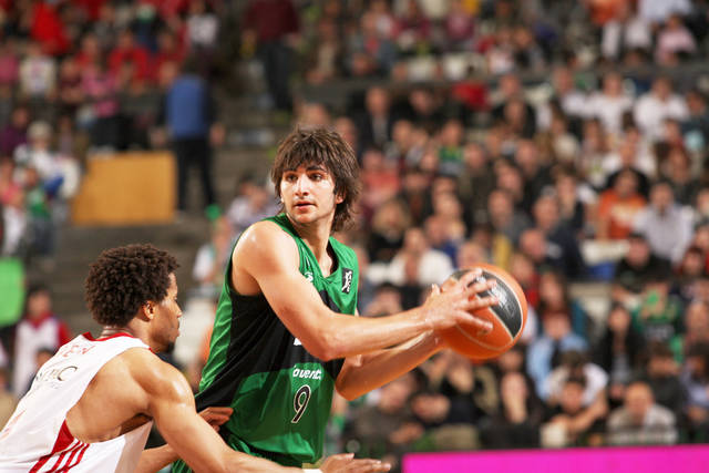 Ricky Rubio, an 18-year-old point guard from Spain, might be the most intriguing player in the NBA Draft and is on a lot of teams' radars. Photo Courtesy Penya.com