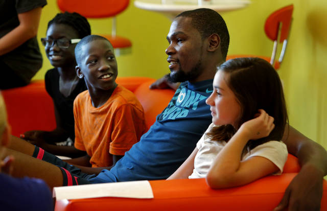 KD visit is sweet surprise for kids