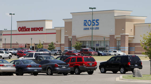 Part of the Shops at Moore is shown. Photo by PAUL B. SOUTHERLAND, The Oklahoman