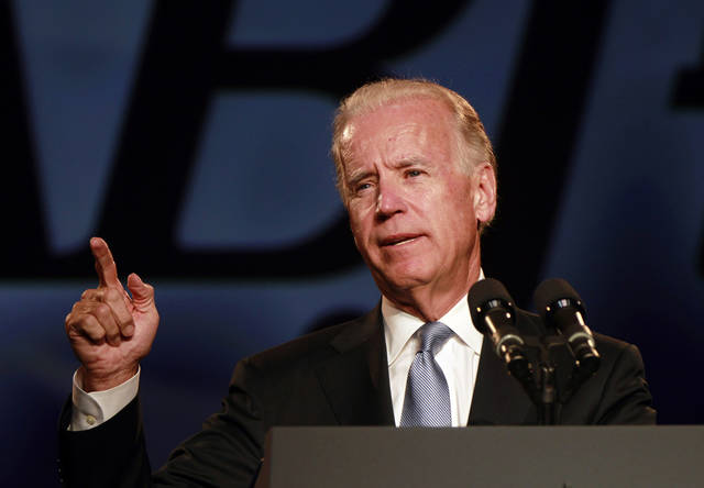 Vice President Joe Biden speaks to the National Association of Black Journalists at their annual convention in New Orleans, Wednesday, June 20, 2012. (AP Photo/Gerald Herbert)