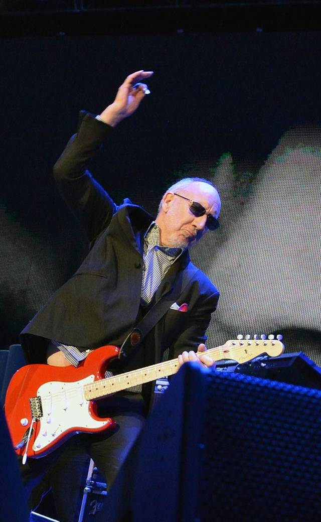 The Who&#039;s Pete Townshend performs during The Who &quot;Quadrophenia and More&quot; World Tour opening night at BB&amp;T Center in Sunrise, Fla.