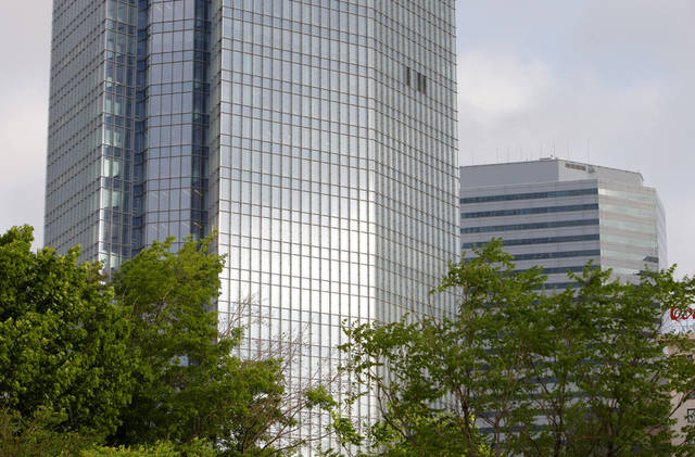 Devon Energy Center in downtown Oklahoma City Monday, April 2, 2012.  Photo by Paul B. Southerland, The Oklahoman