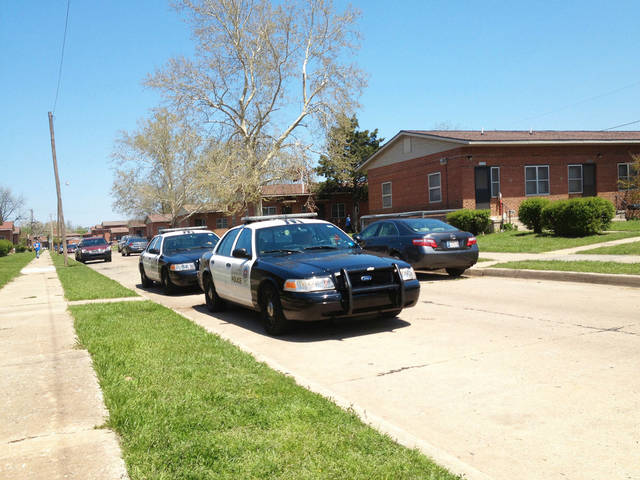 Oklahoma City police were called to a shooting about 11:15 a.m. Wednesday in the 1700 block of Pettee Avenue in Oklahoma City. Marquise Kyhief Callender, 22, was found shot to death inside an apartment, police said. Photo by Juliana Keeping, The Oklahoman