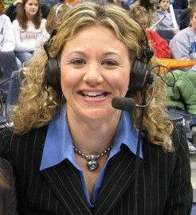 Amy Lawrence Sportscaster